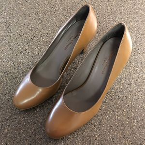 Sesto Meucci Comfort Leather Heels